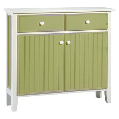 Cheap Sideboard in Lime Green & White (FCO-124-GR)
