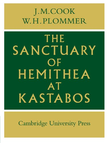 Sanctuary of Hemithea at Kastabos Paperback
