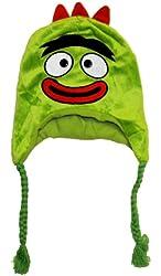Yo Gabba Gabba Brobee Face Cartoon Plush Kids Pilot Laplander Hat