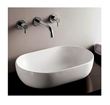 Whitehaus Collection WHKN1080 Isabella Collection Basin, White