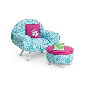 American Girl doll of 2011 Kanani's Lounge Chair Set with ottoman
