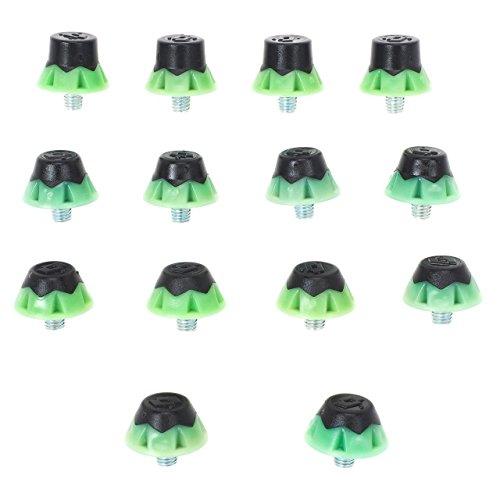 Lotto-Tacchetti 11* 13mm Switch-Tacchetti Calcio nylon-verde-Taglia unica