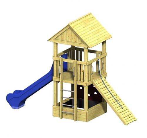 Spielturm Winnetoo Pro Variation 1 – öffentliche Spielanlagen online bestellen