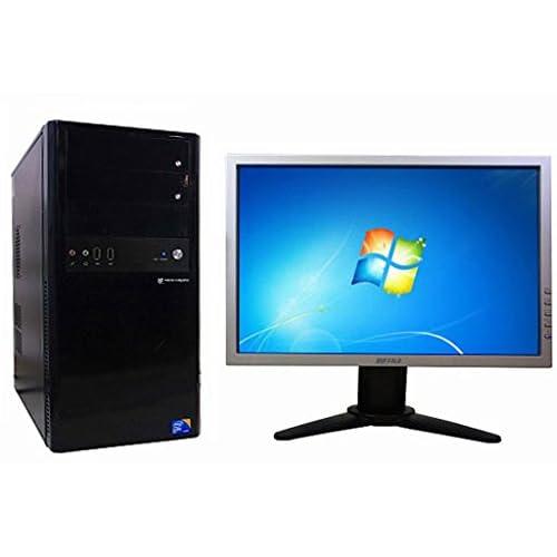中古 デスクトップパソコンMOUSE COMPUTER 0909MDV (127085)【液晶セット】【Windows7 搭載】【セットアップDVD付】【Core i7搭載】【メモリー4096MB搭載】【HDD2TB搭載】【Radeon HD5770搭載】【DVDマルチ搭載】