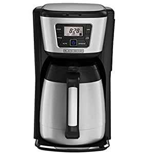 Amazon.com: Black and Decker 12-cup Programmable Coffee Maker with Thermal Carafe: Kitchen & Dining