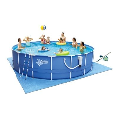 Summer Escapes 17 X 48 Above Ground Metal Frame Pool