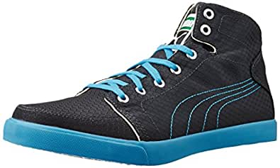 Puma Men's Drongos DP Periscope, Cloisonné and White Canvas Sneakers - 10UK/India (44.5EU)
