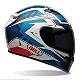 Bell Clutch Adult Qualifier DLX Street Bike Motorcycle Helmet – Blue – Large