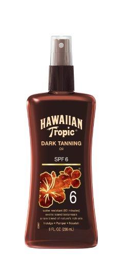 hawaiian-tropic-dark-tanning-oil-spf6-pump-korpersonnenschutz