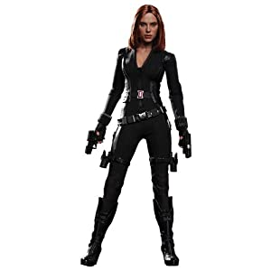 Movie Masterpiece 1/6 Scale Fully Poseable Figure Captain America/The Winter Soldier Black Widow