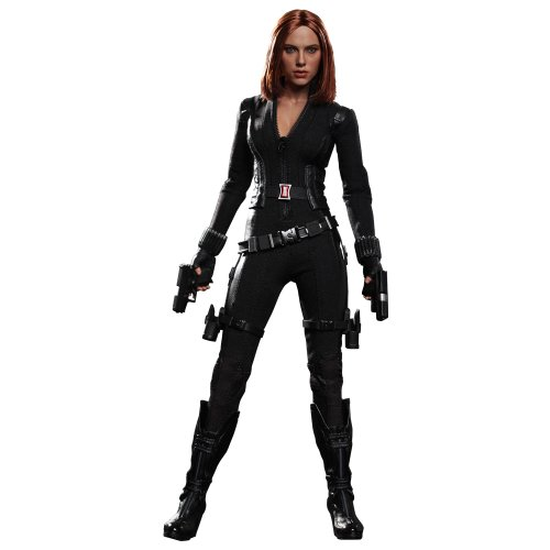 [Movies / master piece: 'American winter and soldier, Captain' 1 / 6 scale figure black widow (f.)