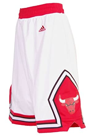 Buy Chicago Bulls Adidas Youth White Replica Shorts by adidas