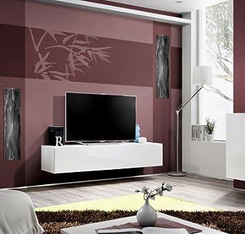 Muebles Bonitos - Mueble TV modelo Forli XL en color blanco