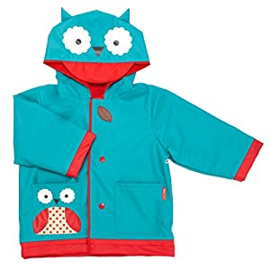 Skip Hop Zoo Raincoat, Owl, Medium