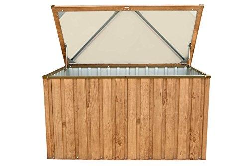 tepro metall ger tebox kissen box garten schrank 770 liter. Black Bedroom Furniture Sets. Home Design Ideas