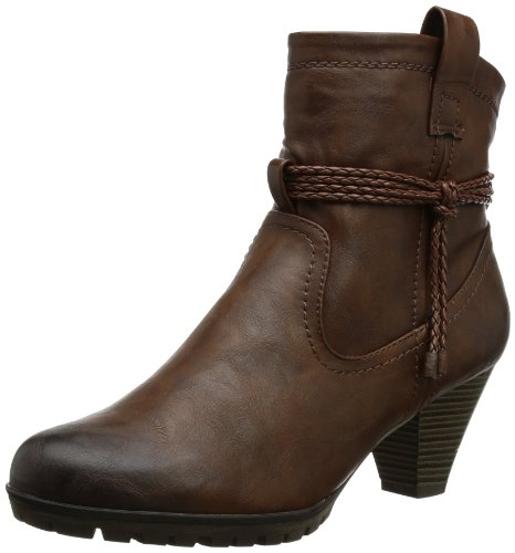 Rieker Womens 98088 Boots Brown Braun (teak/zimt/toffee 25) Size: 8 (42 EU)