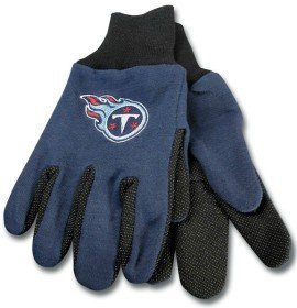 NFL Sport Utility Work Gloves with Grippy Rubber Palm