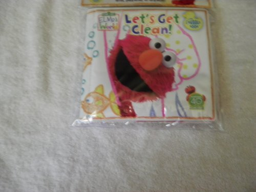 Sesame Street Elmos world Bath Book (Lets get clean)~ Cover art Varies - 1