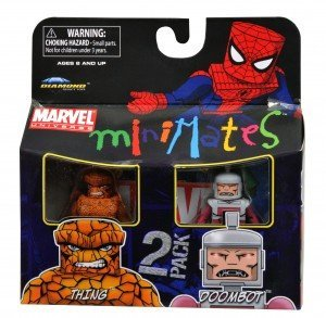 Picture of Art Asylum Marvel Minimates Series 37 Mini Figure 2Pack Thing Doombot (B004HLWGIM) (Marvel Action Figures)