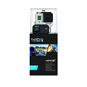 GoPro Actionkamera Hero 3 Plus Black Edition Motorsport, Schwarz, 3660-021