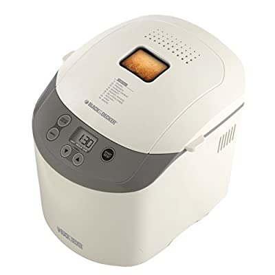 Black & Decker BK1015W 1 1/2-Pound Bread Machine, White by Applica Incorporated/DBA Black and Decker