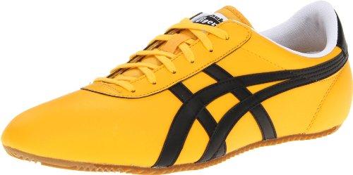 Onitsuka Tiger Tai Chi Le Fashion Sneaker,Yellow/Black,10.5 M US Women's/9 M US Men's