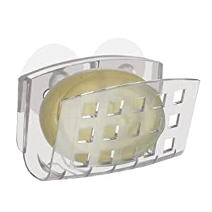 Interdesign, Suction Soap Cradle Soap Dish, Clear