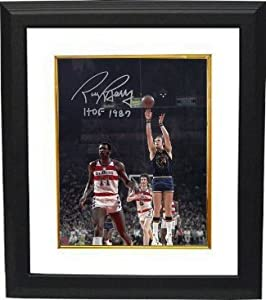 Rick Barry Autographed Hand Signed Golden State Warriors 8x10 Photo HOF 1987 Custom... by Hall of Fame Memorabilia