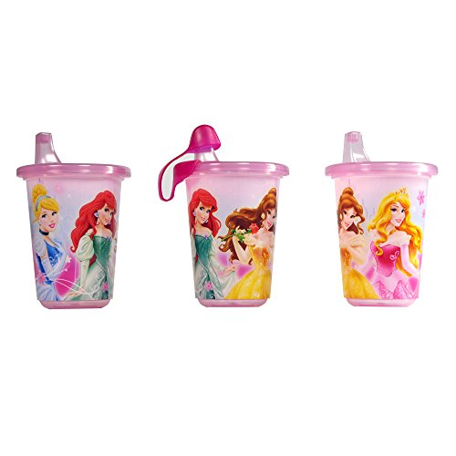 The First Years 3 Pack Disney Princess Take & Toss Sippy Cup
