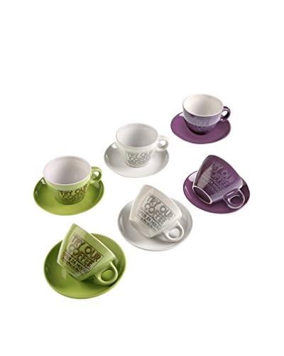 Zingst thee kop en schotel 6 stuks . Set