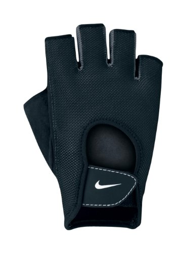 Nike-Womens-Fundamental-Fitness-Gloves-Large-Charcoal-GreyWhiteBlack