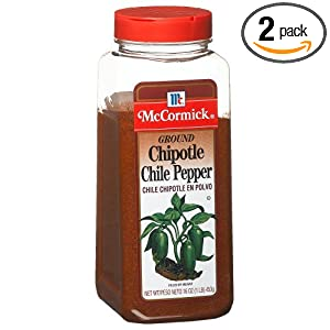 pepper chipotle mccormick ground chili pack seasoning ounce plastic bottle