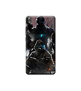 Ebby Premium Printed Back Case Cover With Full protection For Lenovo A7000 / K3 Note (Designer Case)