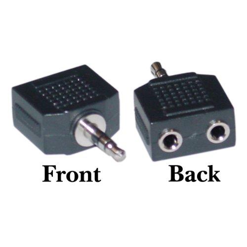 Offex Stereo Splitter 2 X 3.5Mm Stereo Female / 3.5Mm Stereo Male