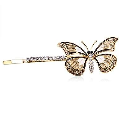 Glitterland Elegant Brown Crystal Butterfly Barrette (10312) Coupon 2015