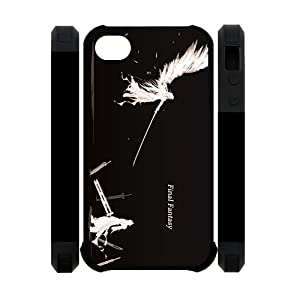 Cool Final Fantasy Game Iphone 4 4S Best Double Protect Hard Cover Case