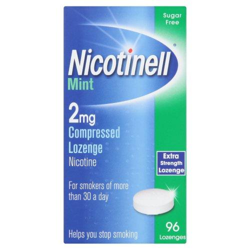 Nicotinell Lozenge Mint 2mg - 96 Lozenges