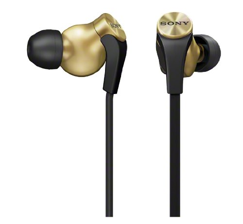 Sony Mdr-Xb60Ex-N Gold | In-Ear Extra Bass Headphones (Japanese Import)