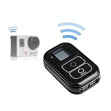 buy Lightwish Black 2.4G Wifi Bluetooth Remote Controller For Gopro Hero4 Silver Black Hero 4 3+ 3 2 Session