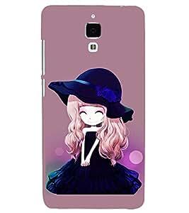 PRINTSHOPPII CUTE DOLL Back Case Cover for Xiaomi Redmi Mi4::Xiaomi Mi 4