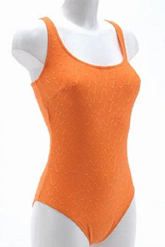 Solar sportlicher Bügel-Badeanzug Brustfutter 70222-51 Orange, Gr. 42 B-Cup