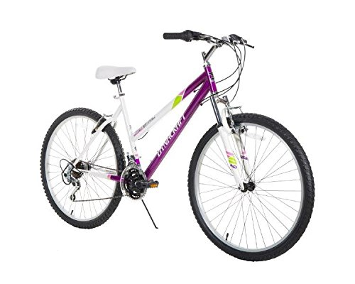 "Dynacraft Women's 26"" 21 Speed Alpine Eagle Bike, 19""/One Size, Purple/White"