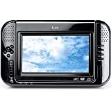 "iLuv i1055 -  Portable 7"" Tablet DVD Player with Video iPod Docking System - Blackby iLuv"