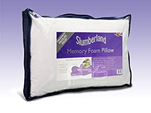 Slumberdown Traditional Memory Foam Pillow Review : MEMORY FOAM pillow (slumberland): Amazon.co.uk: Kitchen & Home