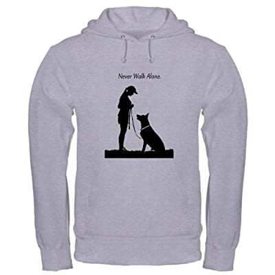 CafePress German Shepherd Silhouette Hooded Sweatshirt
