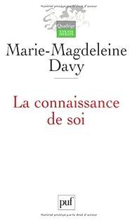 La connaissance de soi par Marie-Madeleine Davy