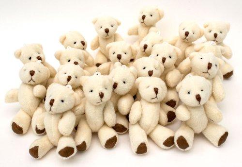 new-cute-and-cuddly-little-teddy-bear-x-10-gift-present-birthday-xmas