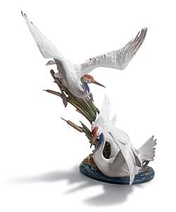 Lladro Cranes Figurine