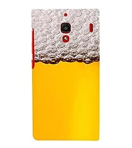 PrintVisa Beer Mug Design 3D Hard Polycarbonate Designer Back Case Cover for Xiaomi Redmi 1S