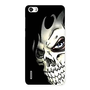 Special Nasty Face Art Multicolor Back Case Cover for Honor 6